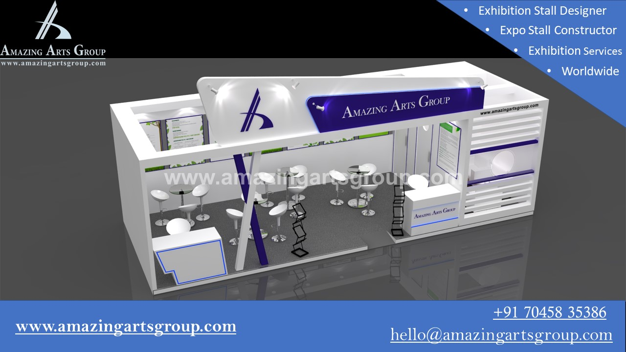 Exhibition Booth Fabrication : Exhibition booth fabricator